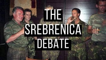 1. Introduction Srebrenica Debate about the Srebrenica massacre