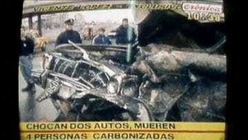 Argentinan journalist La Cronica exaggerates and lies