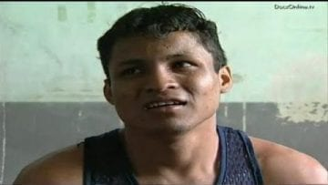 Convicted murderer in Tipitapa prison
