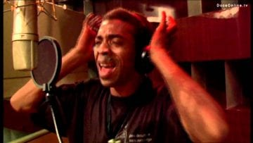 Femi Kuti recording cd Day by Day