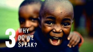 Kids philosophy: Why do Humans Speak?
