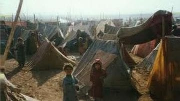 Life in Afghan refugee camps