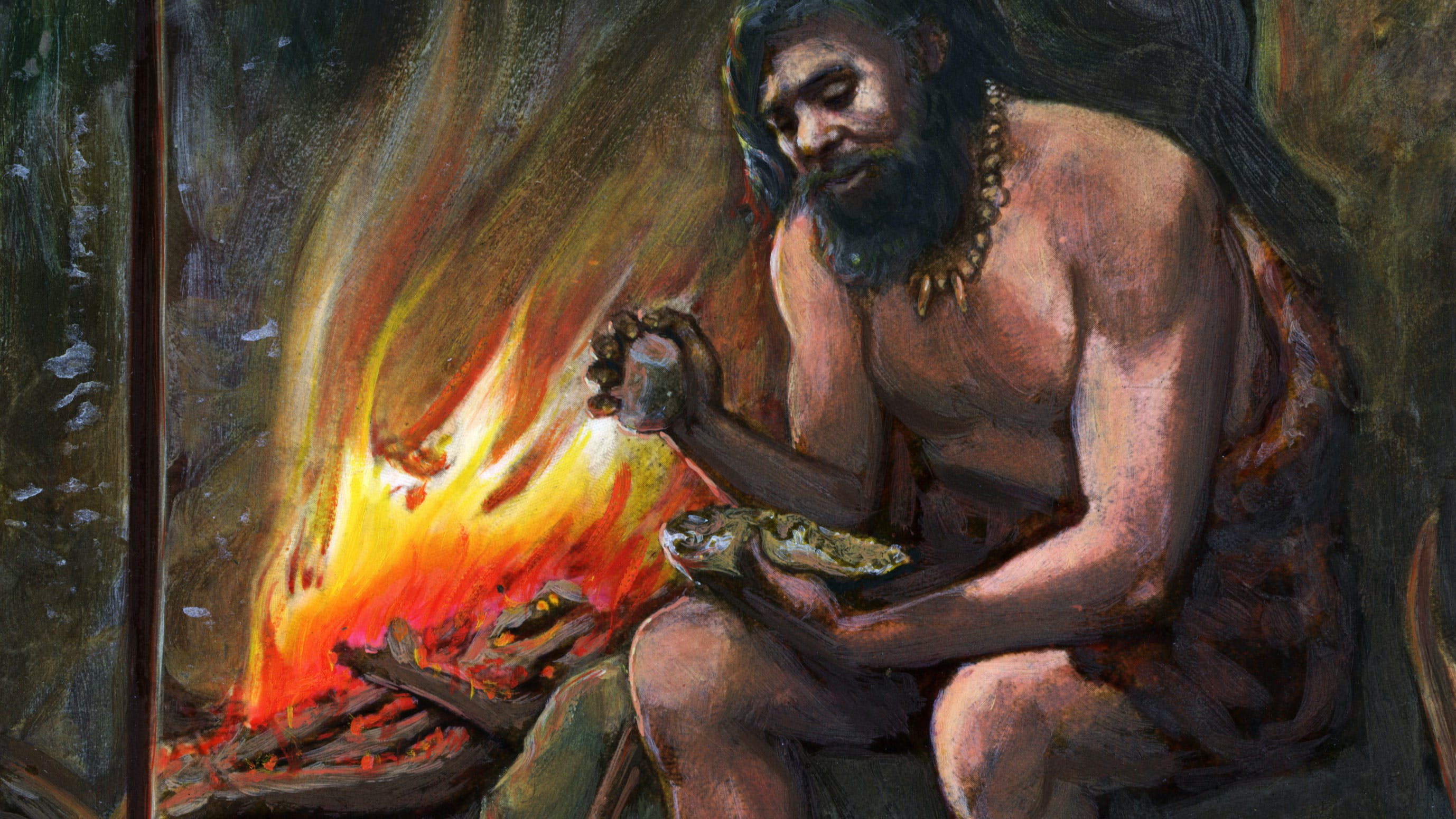 Ancient history timeline - first fire