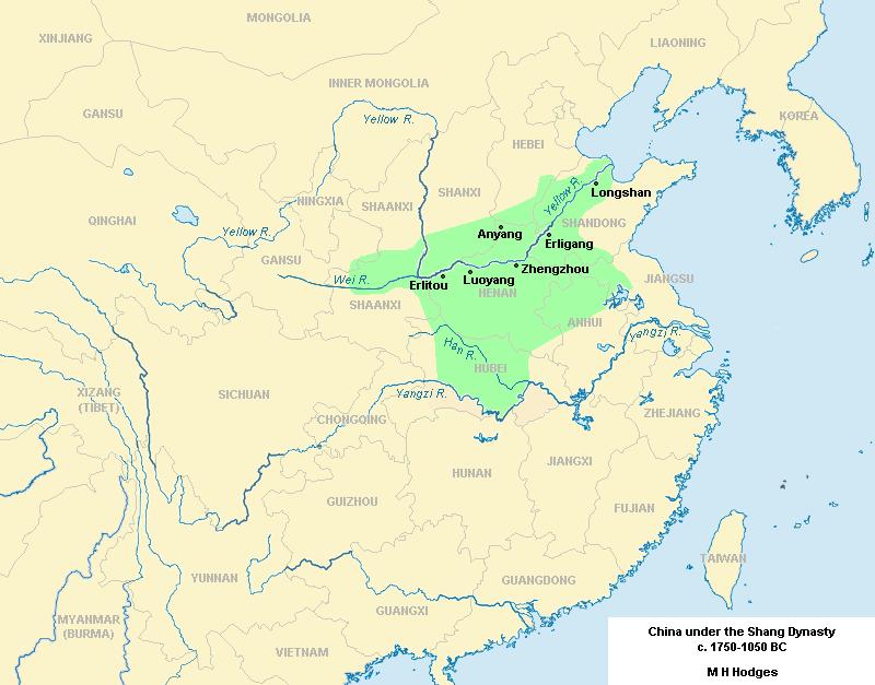 Ancient history timeline - Shang Civilization