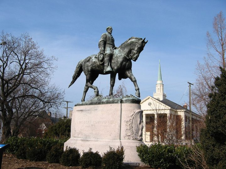 Charlottesville car attack | Robert Edward Lee Statue